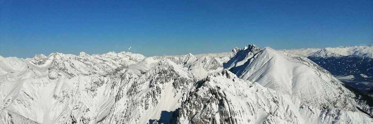 Verortung via Georeferenzierung der Kamera: Aufgenommen in der Nähe von Gemeinde Reith bei Seefeld, Österreich in 2500 Meter