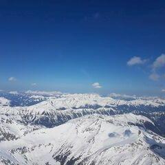 Flugwegposition um 12:58:35: Aufgenommen in der Nähe von Oberwölz Umgebung, Österreich in 3043 Meter