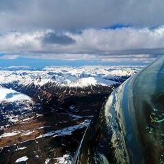 Flugwegposition um 13:14:56: Aufgenommen in der Nähe von Krakauschatten, 8854, Österreich in 3310 Meter