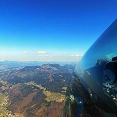 Flugwegposition um 10:06:12: Aufgenommen in der Nähe von Gemeinde Stattegg, Österreich in 1559 Meter