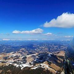 Flugwegposition um 10:29:49: Aufgenommen in der Nähe von Gemeinde St. Kathrein am Offenegg, Österreich in 2253 Meter