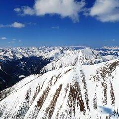 Flugwegposition um 12:09:42: Aufgenommen in der Nähe von Gemeinde Gaal, Österreich in 2752 Meter