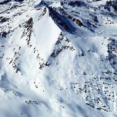 Flugwegposition um 12:52:58: Aufgenommen in der Nähe von Winklern bei Oberwölz, 8832, Österreich in 2733 Meter