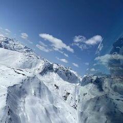 Flugwegposition um 12:38:11: Aufgenommen in der Nähe von Gemeinde Krems in Kärnten, Österreich in 2530 Meter