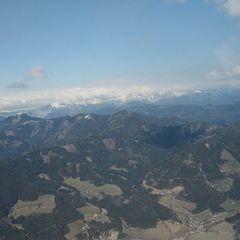 Flugwegposition um 12:35:58: Aufgenommen in der Nähe von Gemeinde St. Peter-Freienstein, Österreich in 1737 Meter