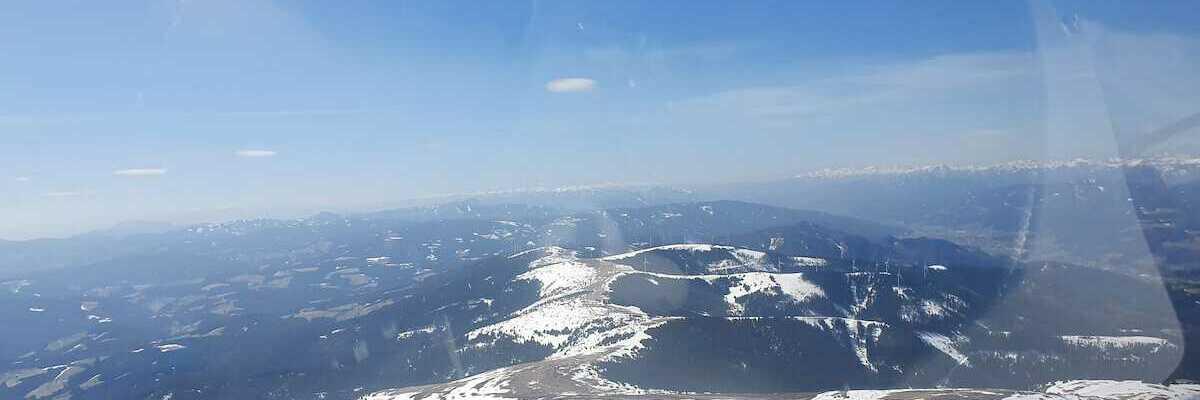 Flugwegposition um 10:34:25: Aufgenommen in der Nähe von Gemeinde Spital am Semmering, Österreich in 1982 Meter