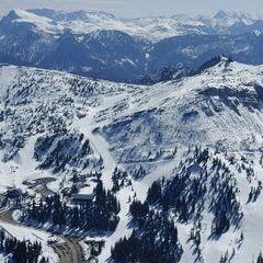 Flugwegposition um 12:01:58: Aufgenommen in der Nähe von Göstling an der Ybbs, 3345, Österreich in 1757 Meter