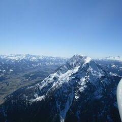 Flugwegposition um 12:39:43: Aufgenommen in der Nähe von Bad Mitterndorf, 8983, Österreich in 1917 Meter