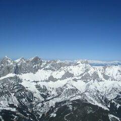 Flugwegposition um 13:38:02: Aufgenommen in der Nähe von Gemeinde Ramsau am Dachstein, 8972, Österreich in 2565 Meter
