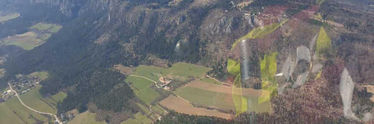 Verortung via Georeferenzierung der Kamera: Aufgenommen in der Nähe von Gemeinde Würflach, 2732, Österreich in 500 Meter