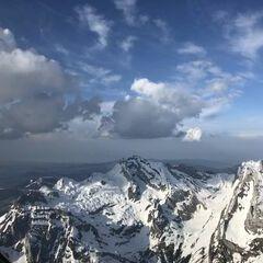 Flugwegposition um 16:00:45: Aufgenommen in der Nähe von Toggenburg, Schweiz in 2663 Meter