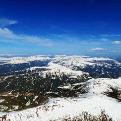 Flugwegposition um 12:26:49: Aufgenommen in der Nähe von Gemeinde Trebesing, Österreich in 2752 Meter
