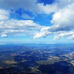 Flugwegposition um 13:00:43: Aufgenommen in der Nähe von Gemeinde Flattach, 9831, Österreich in 2859 Meter