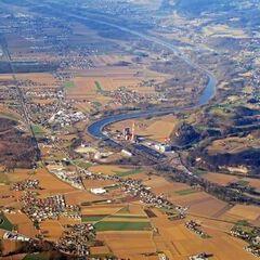 Flugwegposition um 14:24:28: Aufgenommen in der Nähe von Gemeinde Bad St. Leonhard im Lavanttal, Österreich in 2692 Meter