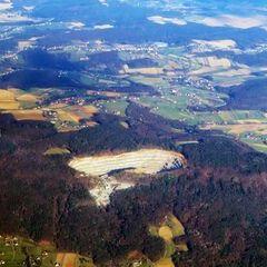 Flugwegposition um 14:41:33: Aufgenommen in der Nähe von Gressenberg, Österreich in 2672 Meter
