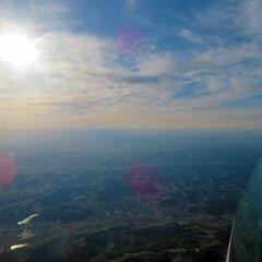 Flugwegposition um 14:52:19: Aufgenommen in der Nähe von Gemeinde Soboth, Soboth, Österreich in 3155 Meter