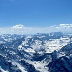 Flugwegposition um 13:38:40: Aufgenommen in der Nähe von 32043 Cortina d'Ampezzo, Belluno, Italien in 3443 Meter