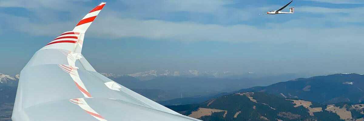 Flugwegposition um 11:23:35: Aufgenommen in der Nähe von Reisstraße, 8741, Österreich in 1938 Meter