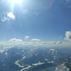 Flugwegposition um 13:40:27: Aufgenommen in der Nähe von 39030 Gsies, Südtirol, Italien in 3682 Meter