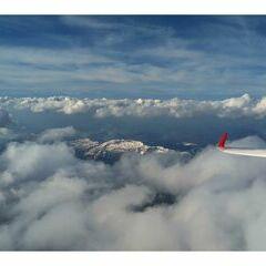 Flugwegposition um 14:48:04: Aufgenommen in der Nähe von Gemeinde Spital am Pyhrn, 4582, Österreich in 3759 Meter