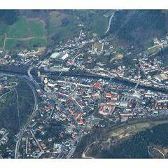 Flugwegposition um 15:24:35: Aufgenommen in der Nähe von Waidhofen an der Ybbs, Österreich in 2393 Meter