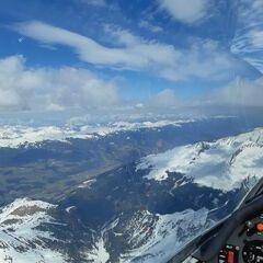 Verortung via Georeferenzierung der Kamera: Aufgenommen in der Nähe von Gemeinde Bramberg am Wildkogel, Österreich in 3400 Meter