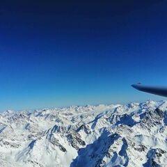 Verortung via Georeferenzierung der Kamera: Aufgenommen in der Nähe von Gemeinde Nauders, Österreich in 3623 Meter