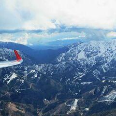 Flugwegposition um 11:34:10: Aufgenommen in der Nähe von Ferlach, Österreich in 2434 Meter