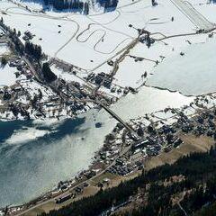 Flugwegposition um 13:52:28: Aufgenommen in der Nähe von Gemeinde Weißensee, Österreich in 2834 Meter