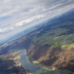 Verortung via Georeferenzierung der Kamera: Aufgenommen in der Nähe von Gemeinde St. Aegidi, Österreich in 1300 Meter