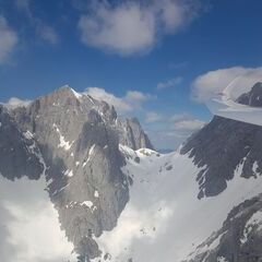 Flugwegposition um 11:46:43: Aufgenommen in der Nähe von Gemeinde Going am Wilden Kaiser, Going am Wilden Kaiser, Österreich in 2007 Meter