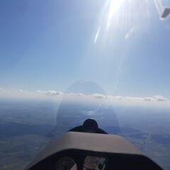 Flugwegposition um 09:30:33: Aufgenommen in der Nähe von Alb-Donau-Kreis, Deutschland in 1625 Meter