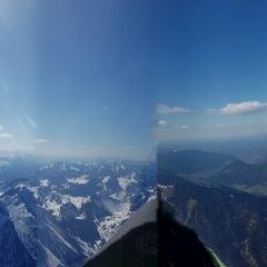 Flugwegposition um 13:23:52: Aufgenommen in der Nähe von Miesbach, Deutschland in 2193 Meter