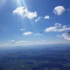 Flugwegposition um 10:35:18: Aufgenommen in der Nähe von Landsberg am Lech, Deutschland in 1792 Meter