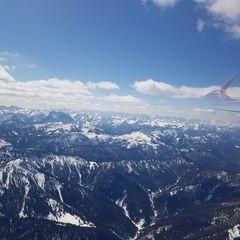 Flugwegposition um 11:24:11: Aufgenommen in der Nähe von Miesbach, Deutschland in 2295 Meter