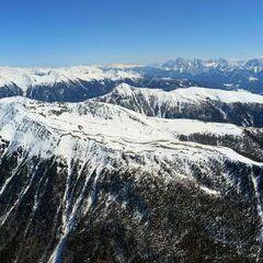 Flugwegposition um 12:07:29: Aufgenommen in der Nähe von 39030 Gais, Südtirol, Italien in 2907 Meter
