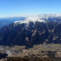 Flugwegposition um 12:07:54: Aufgenommen in der Nähe von 39030 Gais, Südtirol, Italien in 2903 Meter