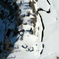 Flugwegposition um 12:32:56: Aufgenommen in der Nähe von Gemeinde Kartitsch, Kartitsch, Österreich in 2373 Meter