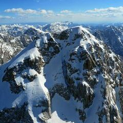 Flugwegposition um 13:46:39: Aufgenommen in der Nähe von 33018 Tarvis, Udine, Italien in 2746 Meter