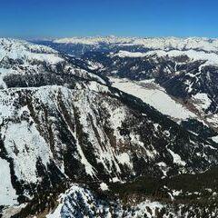 Flugwegposition um 10:39:37: Aufgenommen in der Nähe von Gemeinde Untertilliach, Österreich in 2691 Meter
