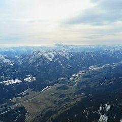 Flugwegposition um 14:17:06: Aufgenommen in der Nähe von Gemeinde Greifenburg, Greifenburg, Österreich in 2914 Meter