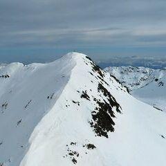 Flugwegposition um 14:35:12: Aufgenommen in der Nähe von Gemeinde Stall, 9832, Österreich in 2859 Meter