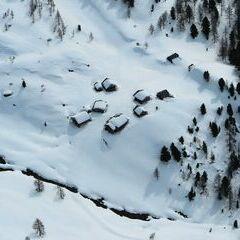 Flugwegposition um 14:28:15: Aufgenommen in der Nähe von Gemeinde Stall, 9832, Österreich in 2735 Meter
