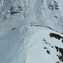 Flugwegposition um 14:36:32: Aufgenommen in der Nähe von Gemeinde Stall, 9832, Österreich in 2878 Meter