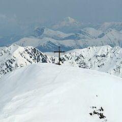 Flugwegposition um 15:13:37: Aufgenommen in der Nähe von Gemeinde Stall, 9832, Österreich in 2857 Meter