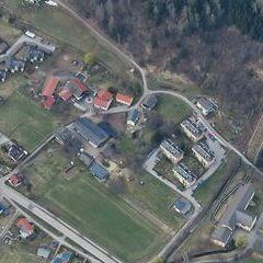 Flugwegposition um 15:17:17: Aufgenommen in der Nähe von Gemeinde Obervellach, 9821, Österreich in 2594 Meter