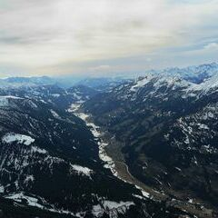Flugwegposition um 15:10:02: Aufgenommen in der Nähe von Gemeinde Stall, 9832, Österreich in 2830 Meter