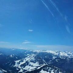 Flugwegposition um 12:19:37: Aufgenommen in der Nähe von Hall, 8911 Hall, Österreich in 2345 Meter