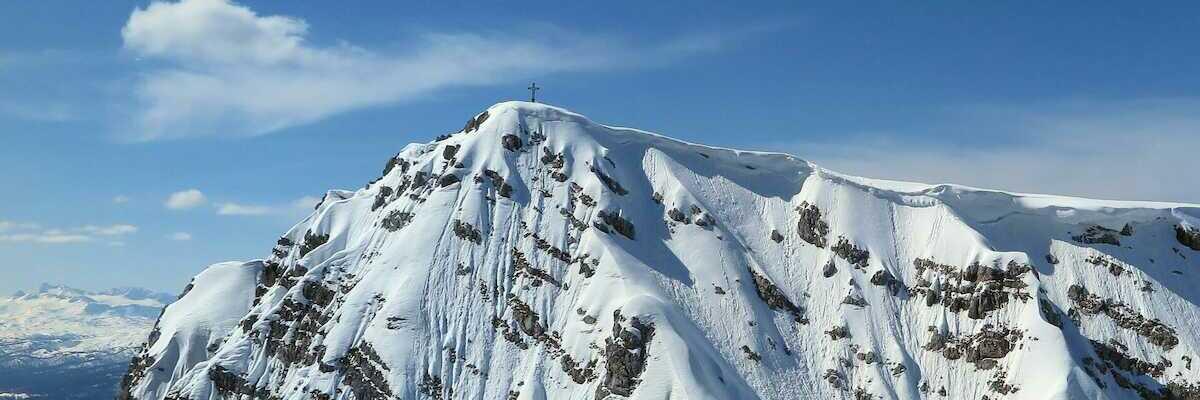 Flugwegposition um 12:39:56: Aufgenommen in der Nähe von Mitterberg-Sankt Martin, Österreich in 2296 Meter