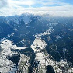 Flugwegposition um 13:55:23: Aufgenommen in der Nähe von Gemeinde Puchberg am Schneeberg, Österreich in 1703 Meter